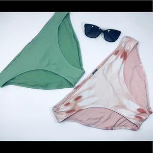 2 Aerie bikini swim bottoms